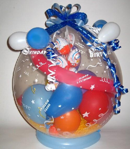 Dárkové Balení v Balónku- Kinder vajíčko