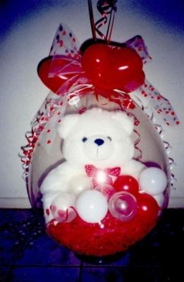 Miluju Tě medvídek Dárkové Balení v Balonku
