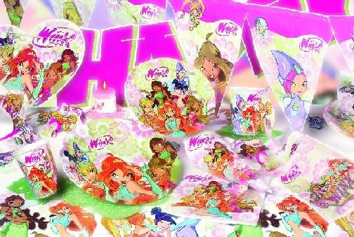 Winx narozeninová party