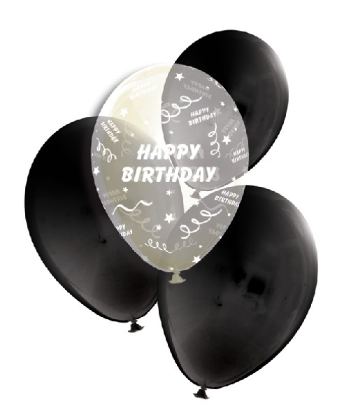 Happy Birthday návrh, Dárkové Balení v Balonku