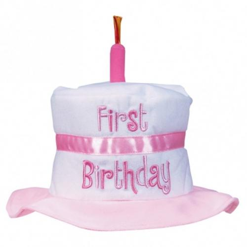 Images First Birthday Hat Girl