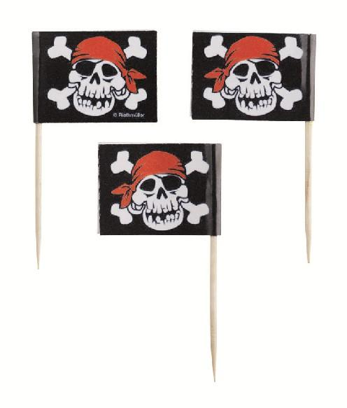 Пиратский флаг из бумаги