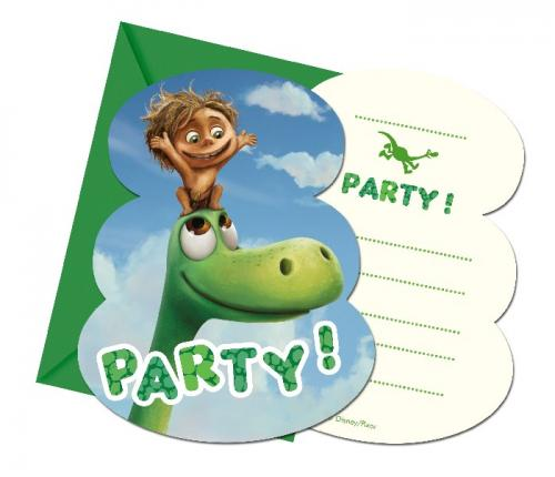Images The Good Dinosaur Birthday Invitations