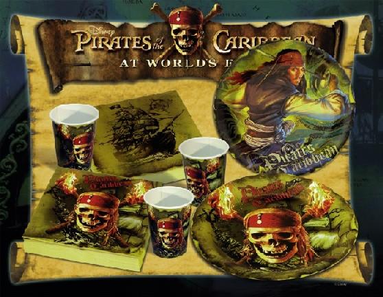 Piráti z Karibiku narozeninová party