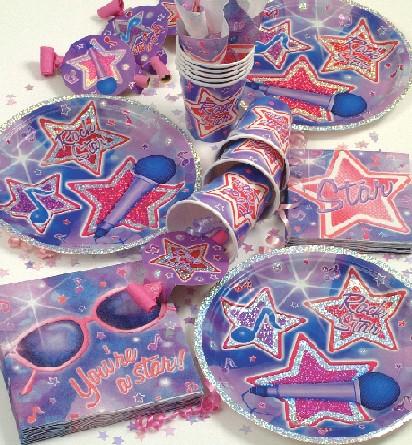 Rock Star narozeninová party