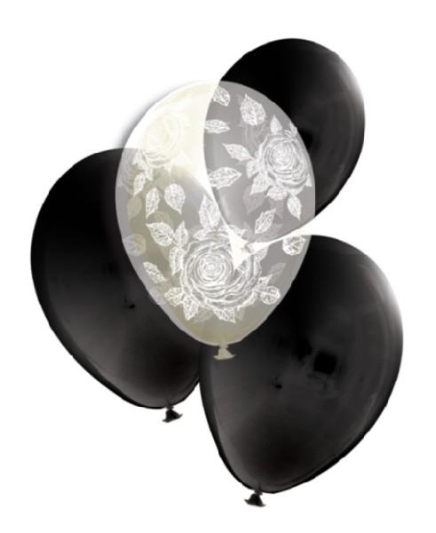 Růží návrh, Dárkové Balení v Balonku