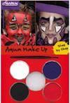 Barvy na obličej, aqua make up sada čert