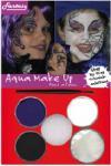 Barvy na obličej, aqua make up sada čarodějnice